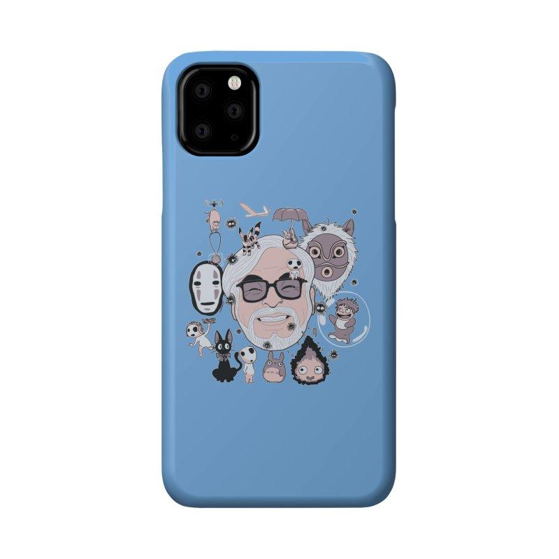Miyazaki Tribute Accessories Phone Case by darkchoocoolat's Artist Shop