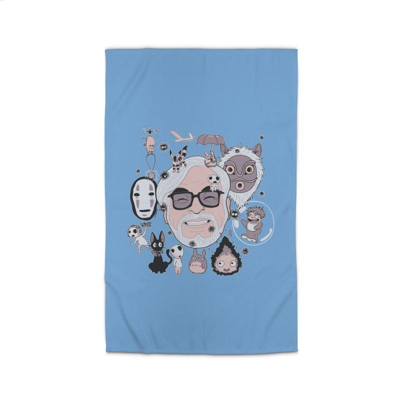 Miyazaki Tribute Home Rug by darkchoocoolat's Artist Shop