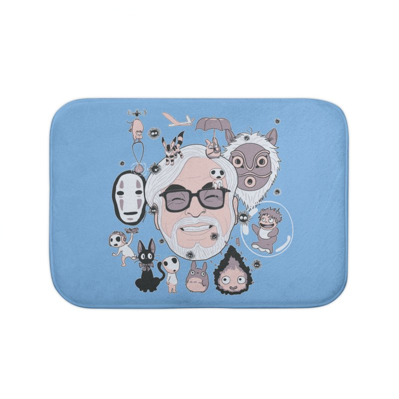 Miyazaki Tribute Home Bath Mat by darkchoocoolat's Artist Shop