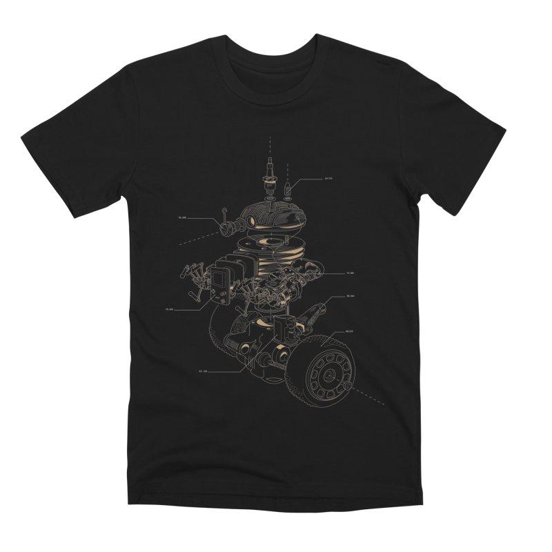 Recycling Robot Men's Premium T-Shirt by darkchoocoolat's Artist Shop