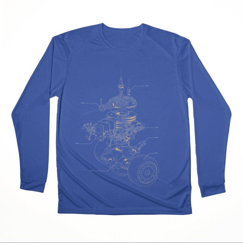 Recycling Robot Women's Performance Unisex Longsleeve T-Shirt by darkchoocoolat's Artist Shop