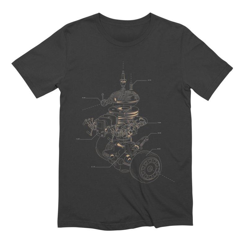 Recycling Robot Men's Extra Soft T-Shirt by darkchoocoolat's Artist Shop