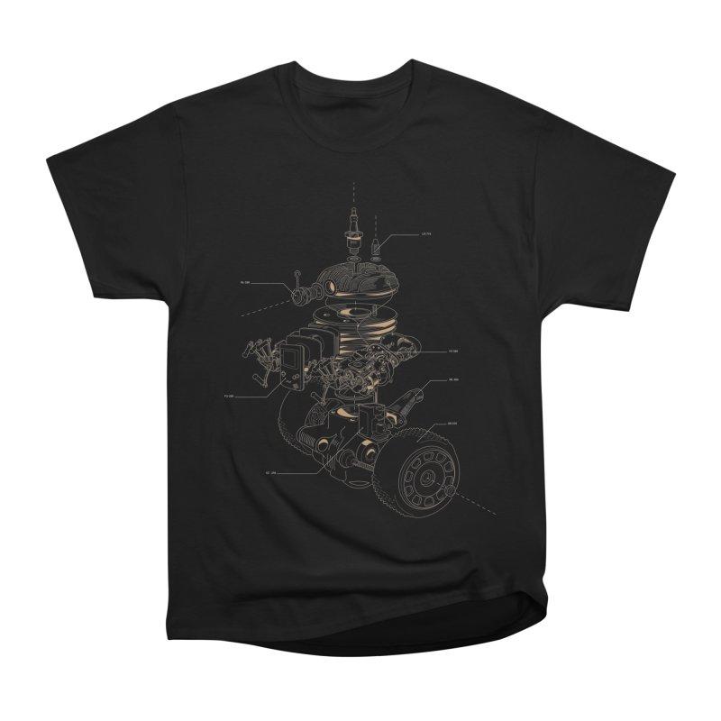 Recycling Robot Men's Heavyweight T-Shirt by darkchoocoolat's Artist Shop