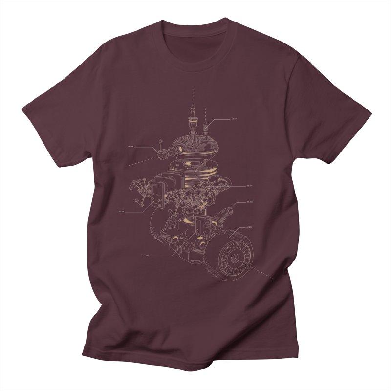 Recycling Robot Men's Regular T-Shirt by darkchoocoolat's Artist Shop