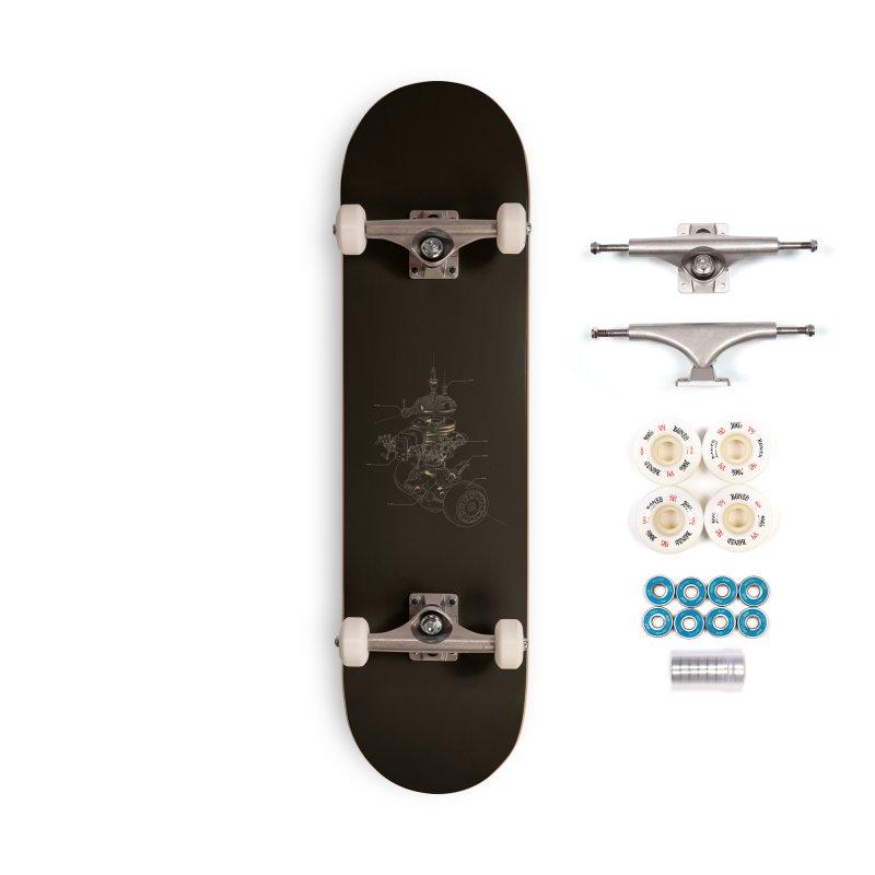 Recycling Robot Accessories Complete - Premium Skateboard by darkchoocoolat's Artist Shop
