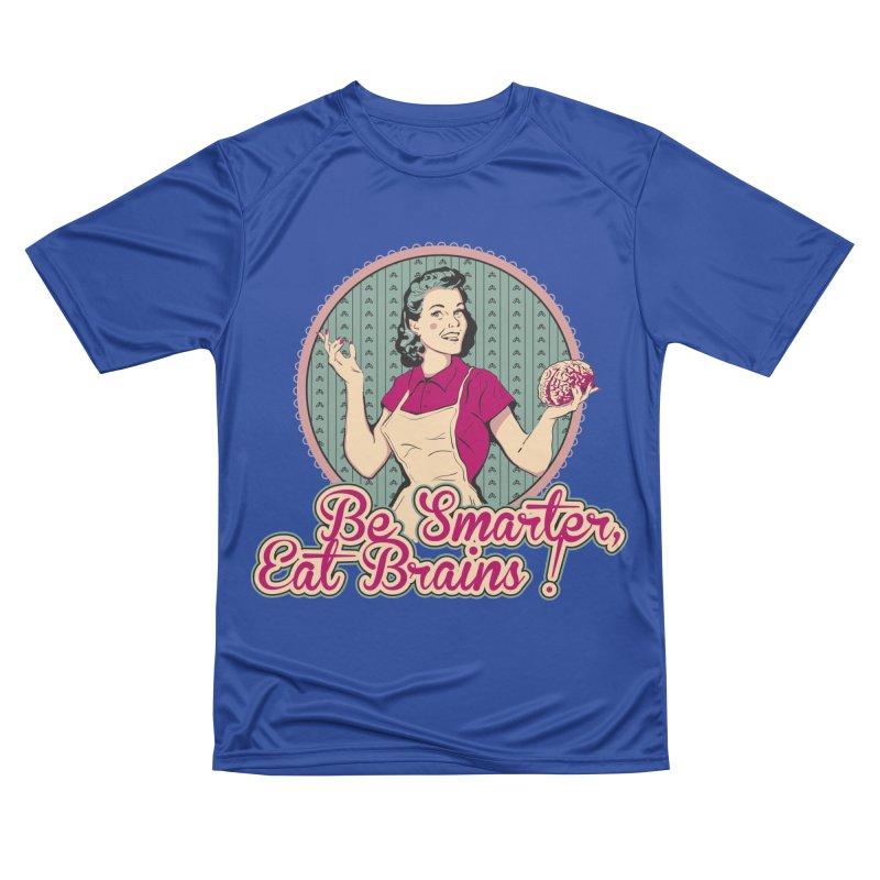 Eat Brains Men's Performance T-Shirt by darkchoocoolat's Artist Shop
