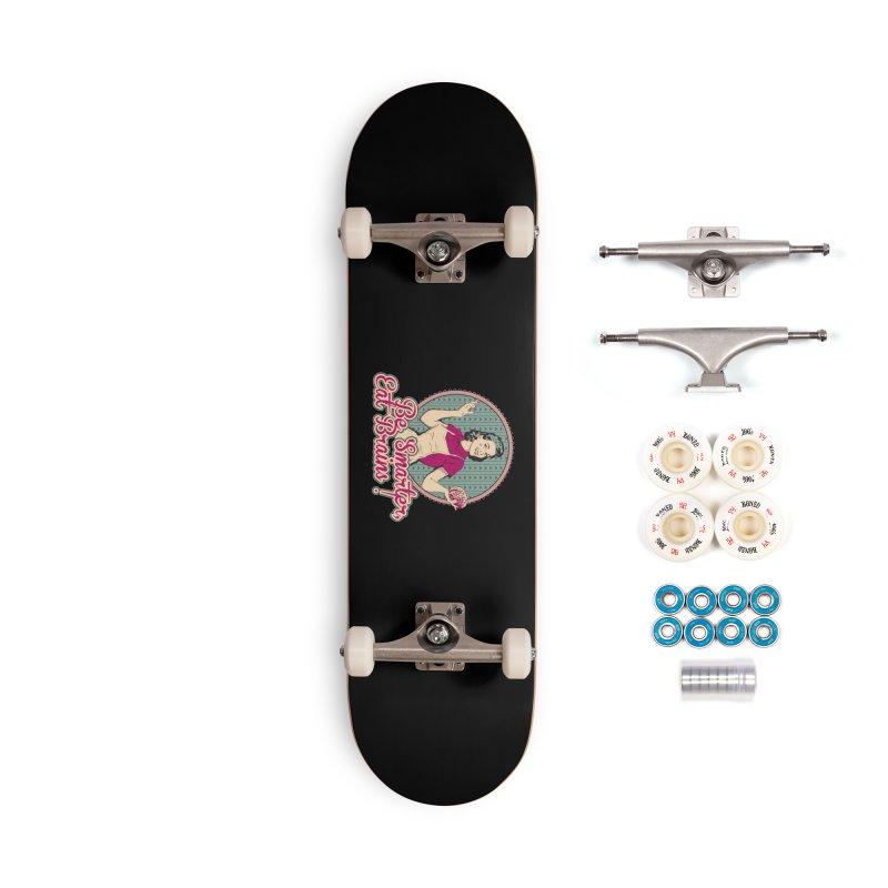 Eat Brains Accessories Complete - Premium Skateboard by darkchoocoolat's Artist Shop