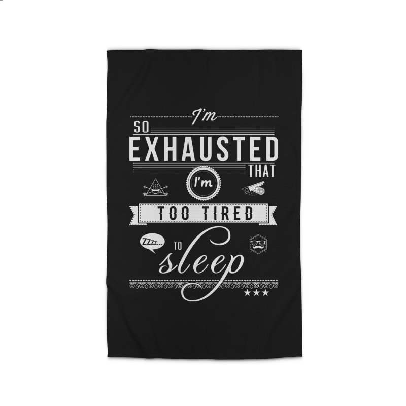 So Exhausted Home Rug by darkchoocoolat's Artist Shop