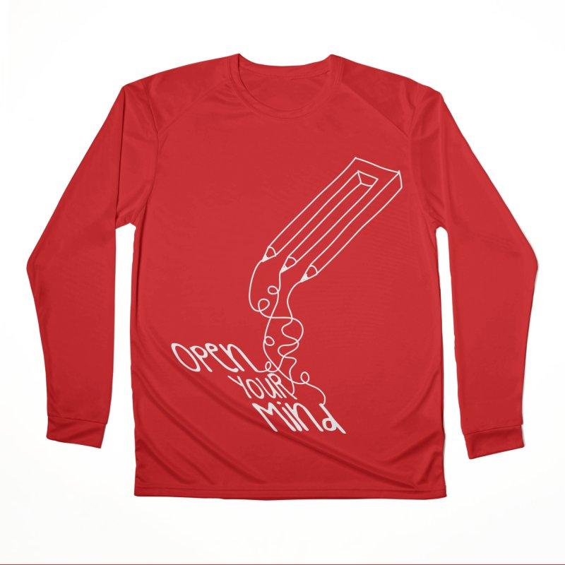 Open your mind Men's Performance Longsleeve T-Shirt by darkchoocoolat's Artist Shop