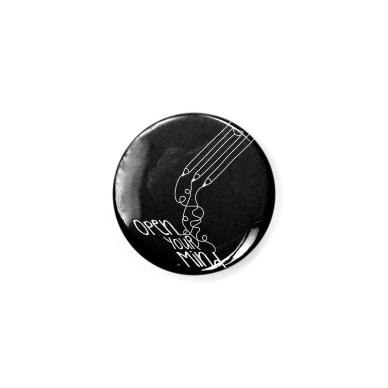 Open your mind Accessories Button by darkchoocoolat's Artist Shop