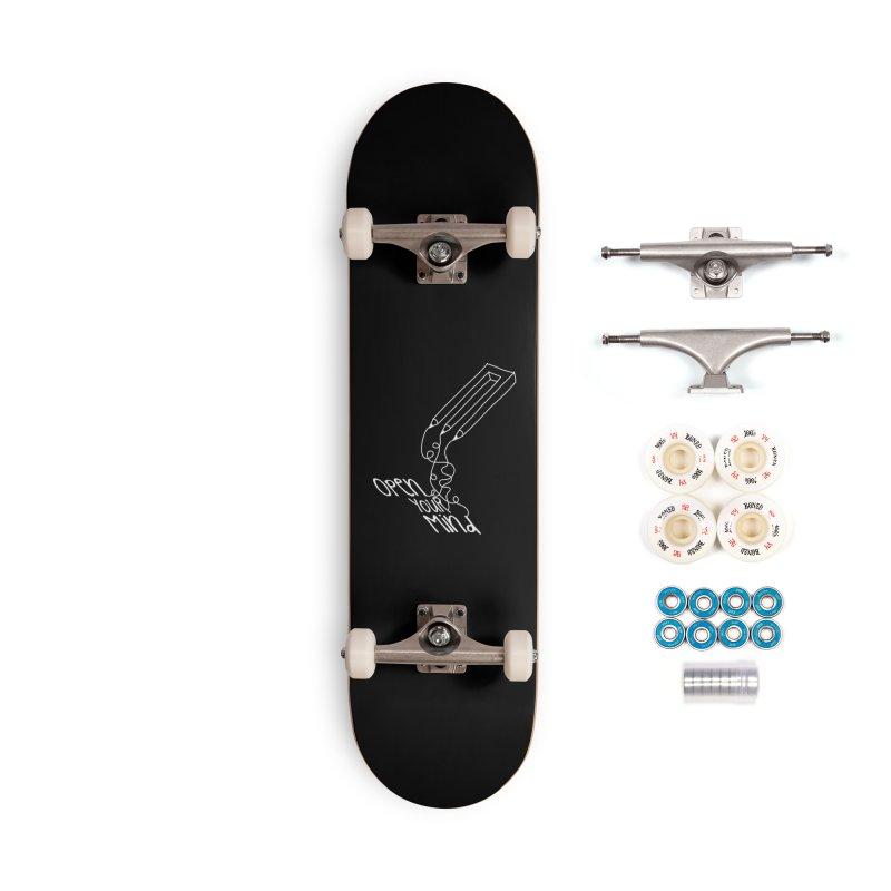 Open your mind Accessories Complete - Premium Skateboard by darkchoocoolat's Artist Shop