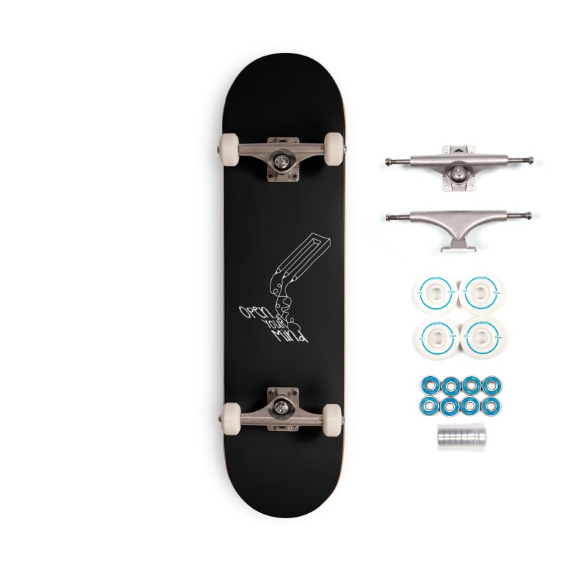 Open your mind Accessories Complete - Basic Skateboard by darkchoocoolat's Artist Shop