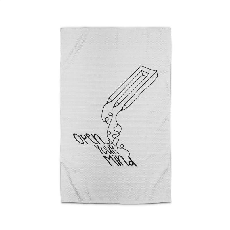 Open your mind Home Rug by darkchoocoolat's Artist Shop