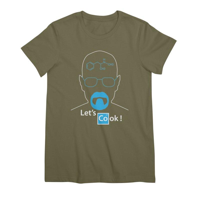 Let's Cook Women's Premium T-Shirt by darkchoocoolat's Artist Shop