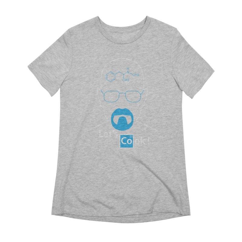 Let's Cook Women's Extra Soft T-Shirt by darkchoocoolat's Artist Shop