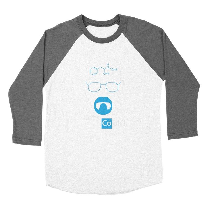 Let's Cook Women's Baseball Triblend Longsleeve T-Shirt by darkchoocoolat's Artist Shop