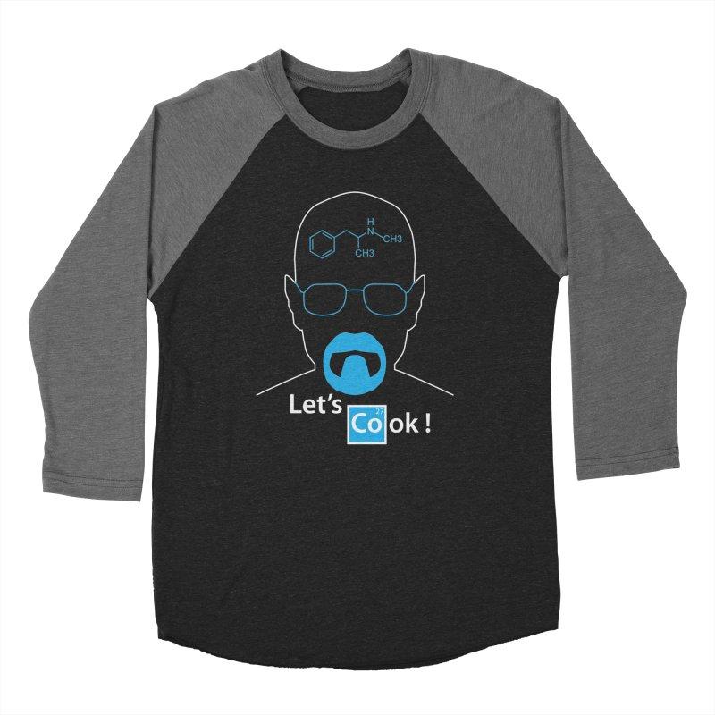 Let's Cook Men's Baseball Triblend Longsleeve T-Shirt by darkchoocoolat's Artist Shop