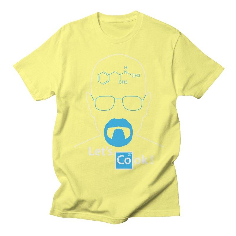 Let's Cook Men's Regular T-Shirt by darkchoocoolat's Artist Shop