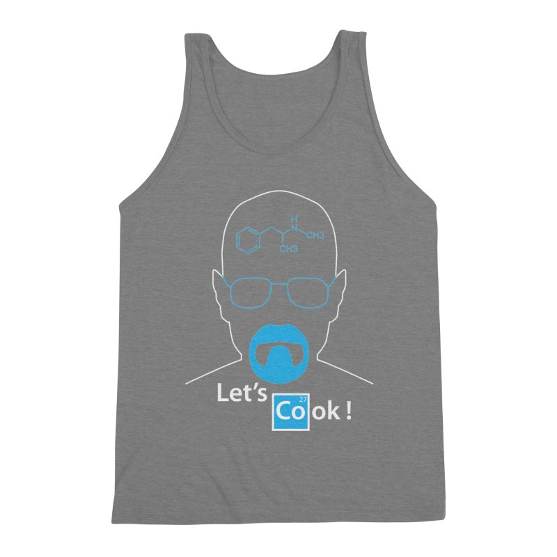 Let's Cook Men's Triblend Tank by darkchoocoolat's Artist Shop