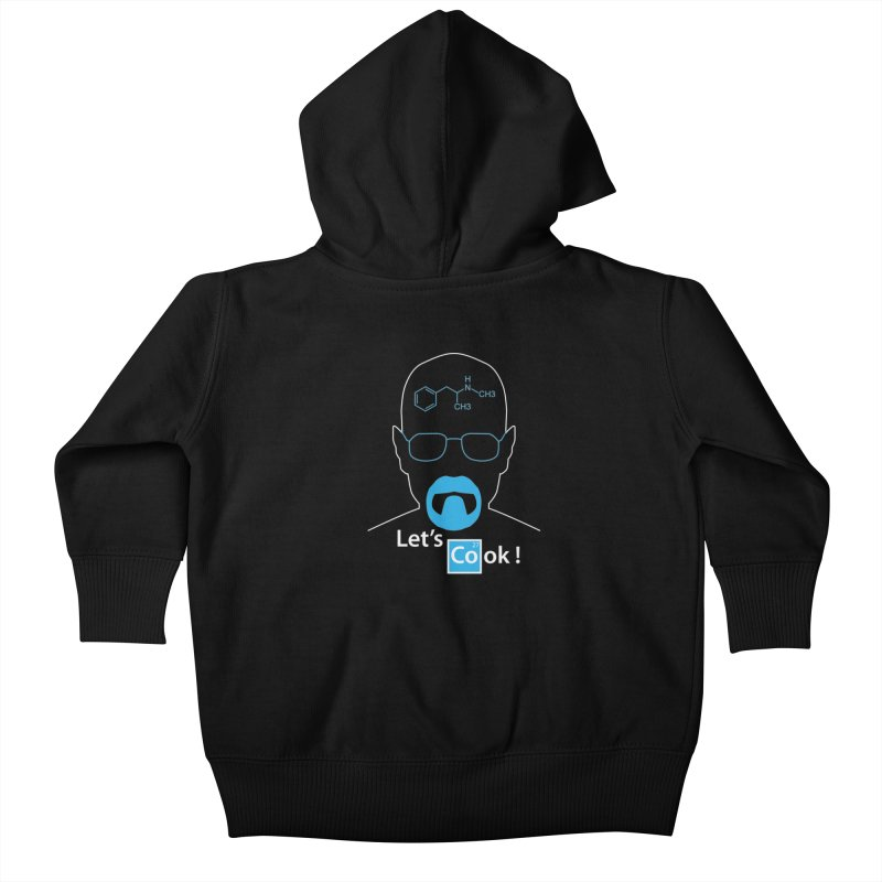 Let's Cook Kids Baby Zip-Up Hoody by darkchoocoolat's Artist Shop