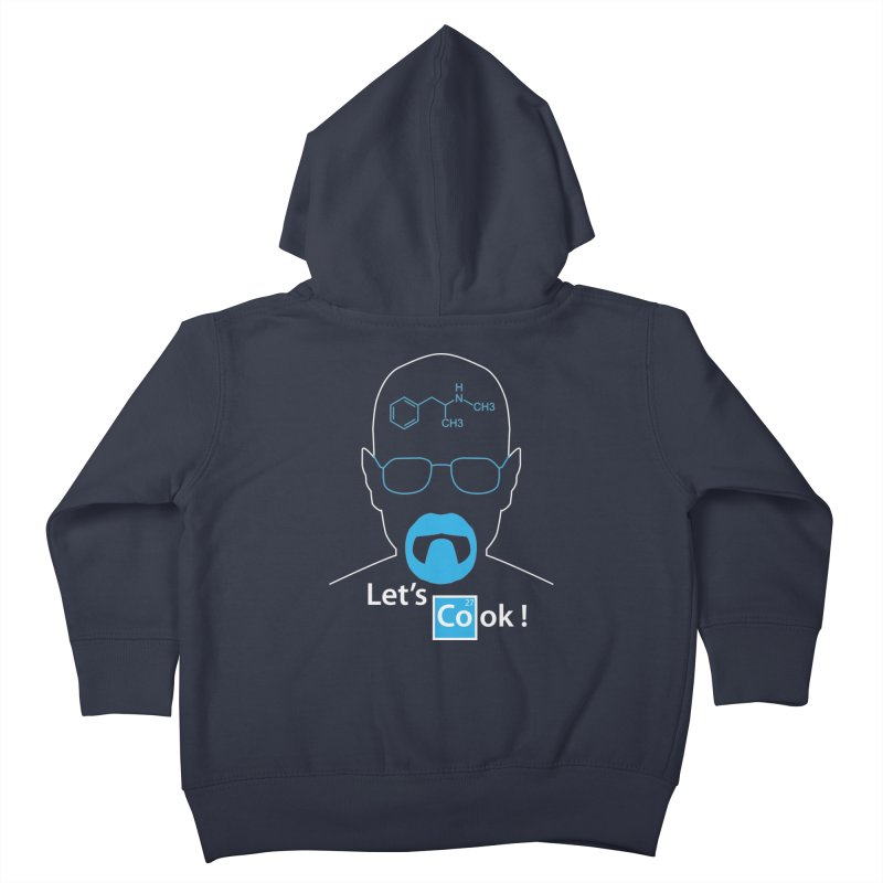Let's Cook Kids Toddler Zip-Up Hoody by darkchoocoolat's Artist Shop