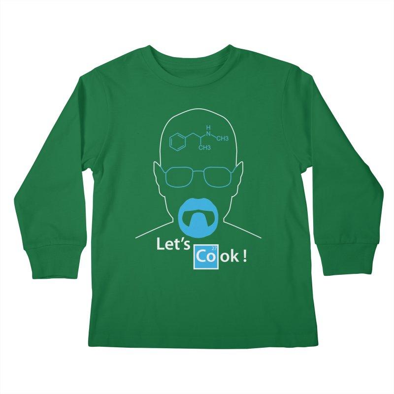 Let's Cook Kids Longsleeve T-Shirt by darkchoocoolat's Artist Shop