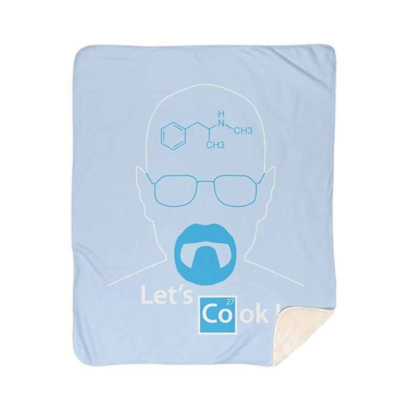 Let's Cook Home Sherpa Blanket Blanket by darkchoocoolat's Artist Shop
