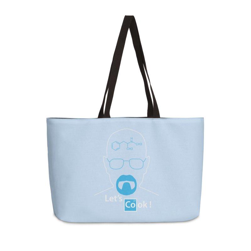Let's Cook Accessories Weekender Bag Bag by darkchoocoolat's Artist Shop