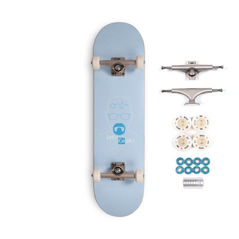 Let's Cook Accessories Complete - Premium Skateboard by darkchoocoolat's Artist Shop