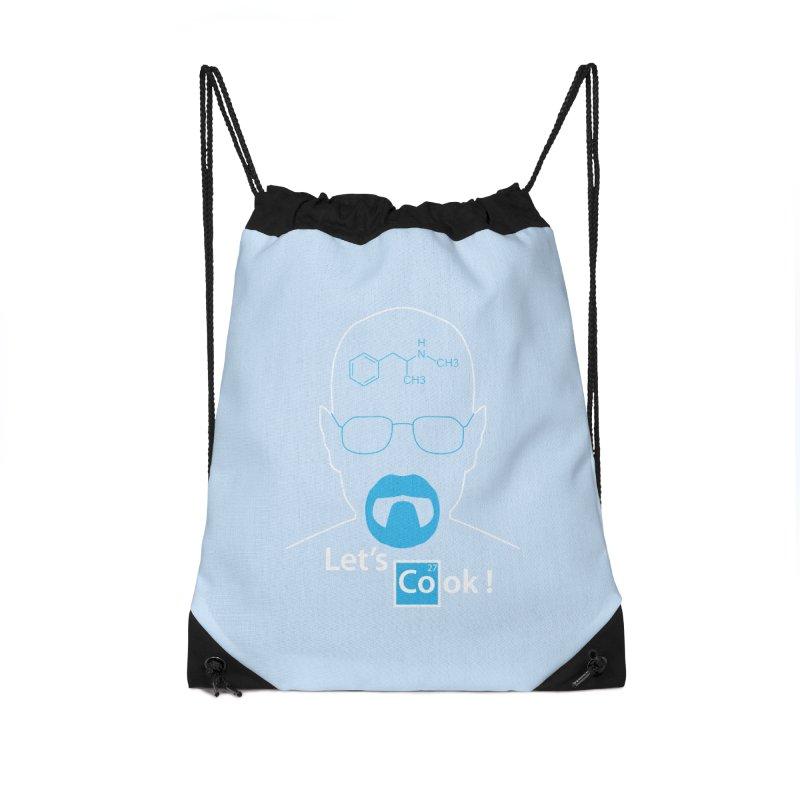 Let's Cook Accessories Drawstring Bag Bag by darkchoocoolat's Artist Shop