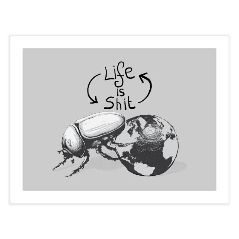 Life is ... Home Fine Art Print by darkchoocoolat's Artist Shop