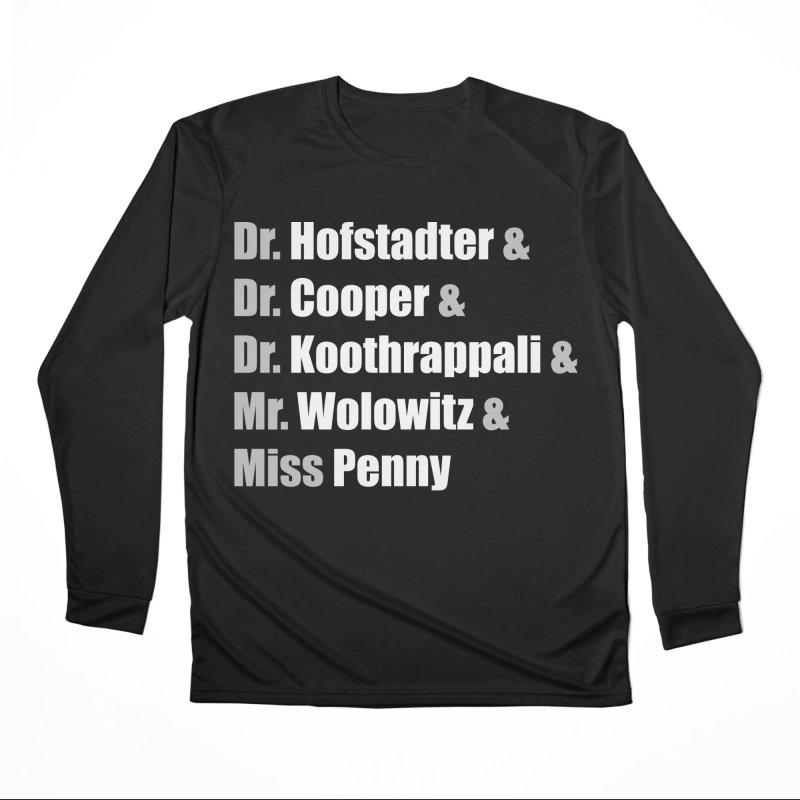Miss Penny Women's Performance Unisex Longsleeve T-Shirt by darkchoocoolat's Artist Shop
