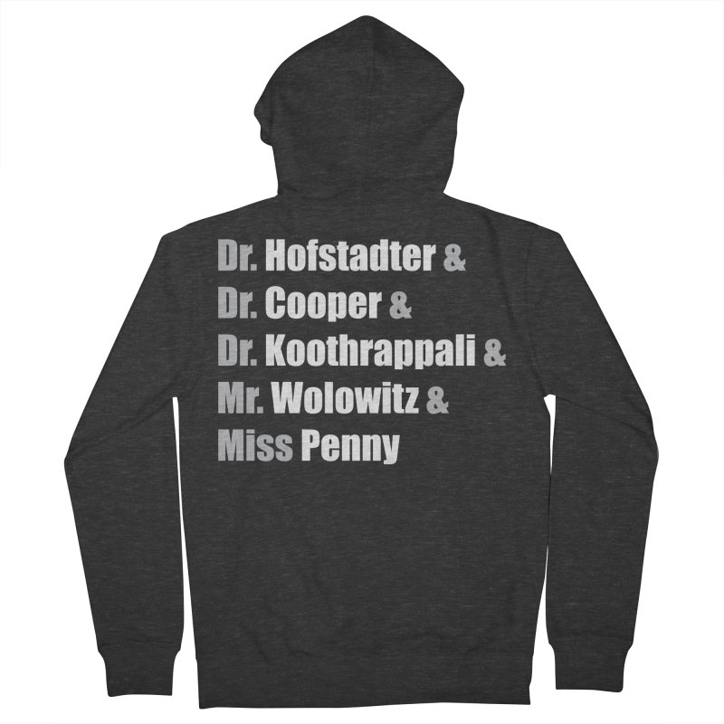 Miss Penny Women's French Terry Zip-Up Hoody by darkchoocoolat's Artist Shop