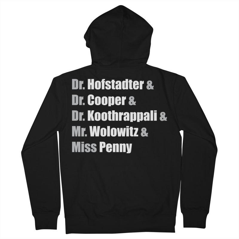 Miss Penny Men's French Terry Zip-Up Hoody by darkchoocoolat's Artist Shop