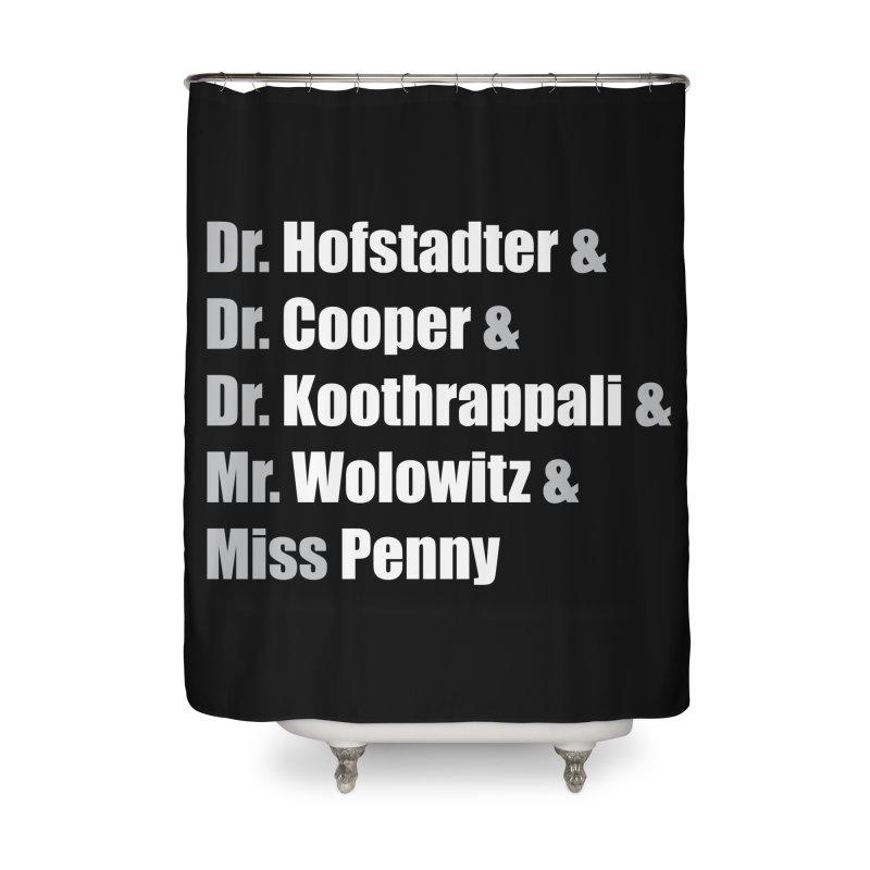 Miss Penny Home Shower Curtain by darkchoocoolat's Artist Shop