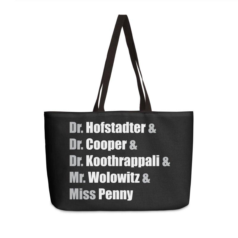 Miss Penny Accessories Weekender Bag Bag by darkchoocoolat's Artist Shop