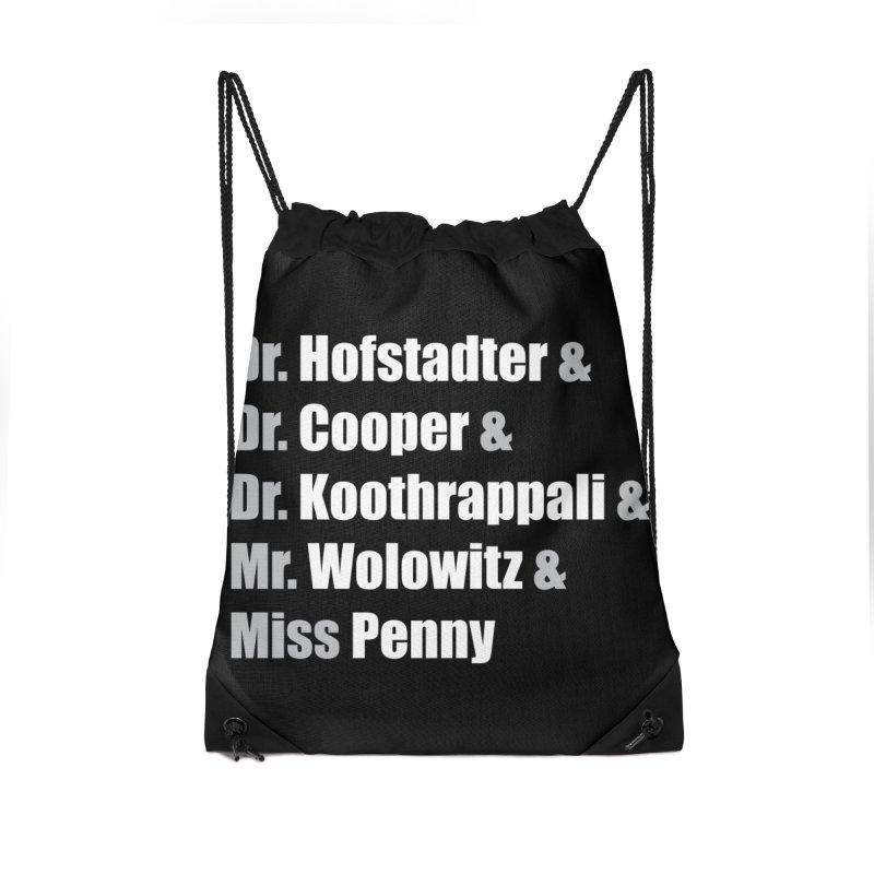 Miss Penny Accessories Drawstring Bag Bag by darkchoocoolat's Artist Shop