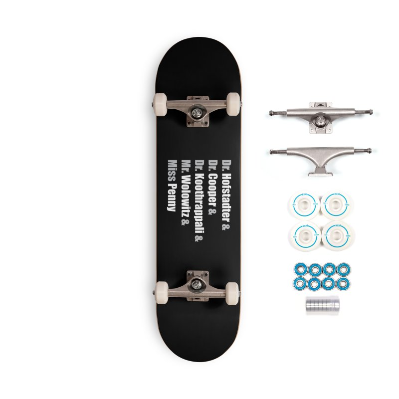 Miss Penny Accessories Complete - Basic Skateboard by darkchoocoolat's Artist Shop