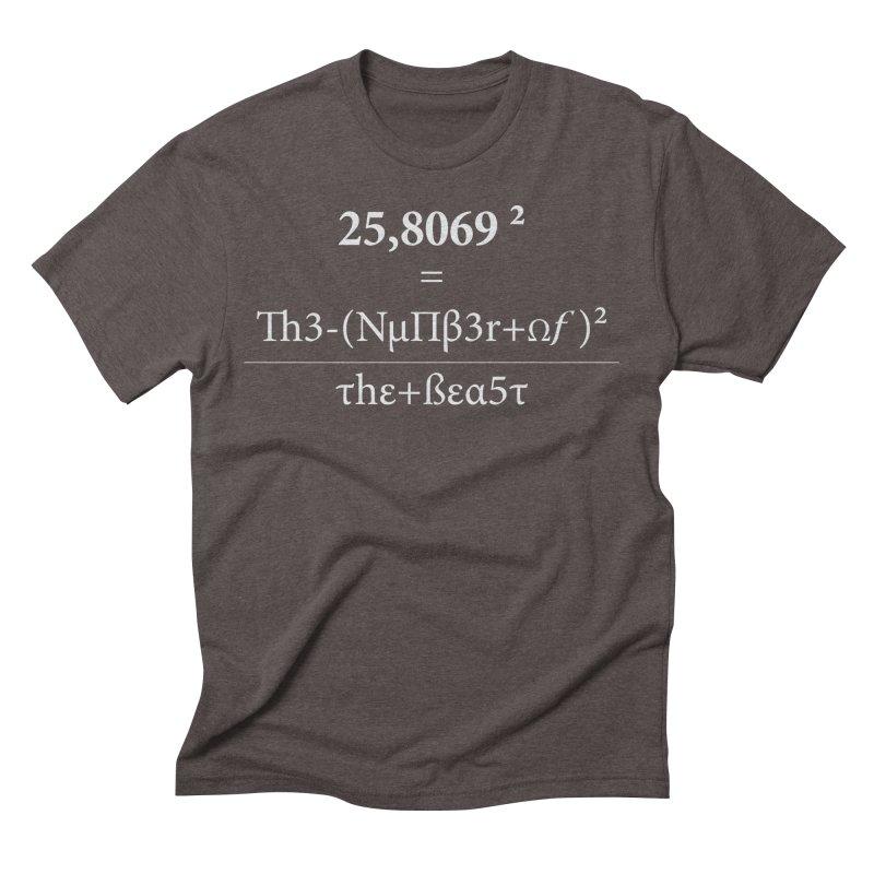 The Number of the Beast Men's Triblend T-Shirt by darkchoocoolat's Artist Shop
