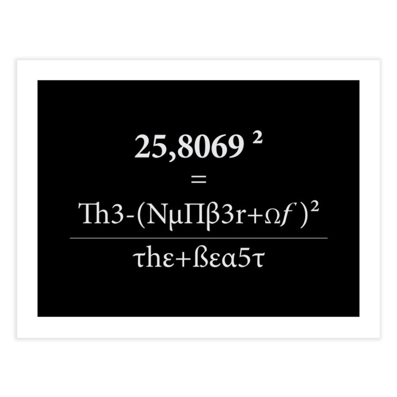 The Number of the Beast Home Fine Art Print by darkchoocoolat's Artist Shop