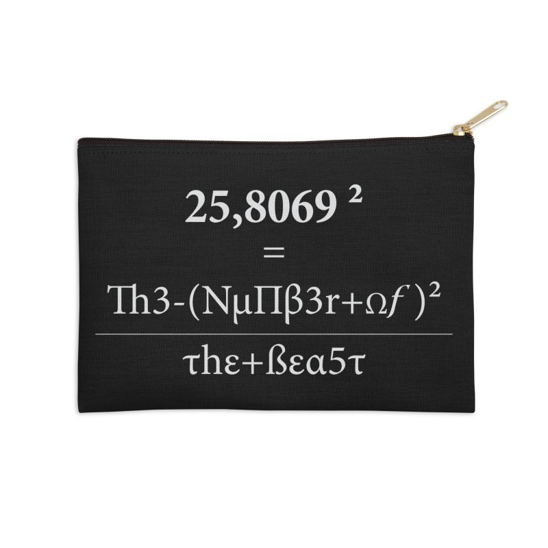 The Number of the Beast Accessories Zip Pouch by darkchoocoolat's Artist Shop