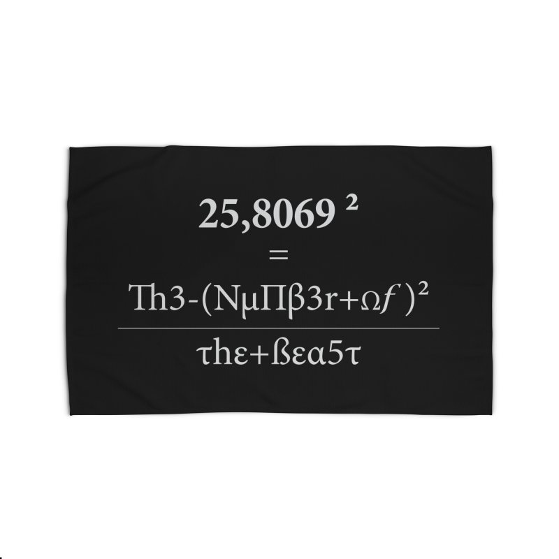 The Number of the Beast Home Rug by darkchoocoolat's Artist Shop
