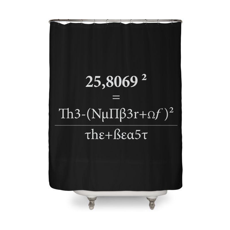 The Number of the Beast Home Shower Curtain by darkchoocoolat's Artist Shop