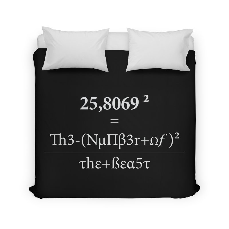 The Number of the Beast Home Duvet by darkchoocoolat's Artist Shop