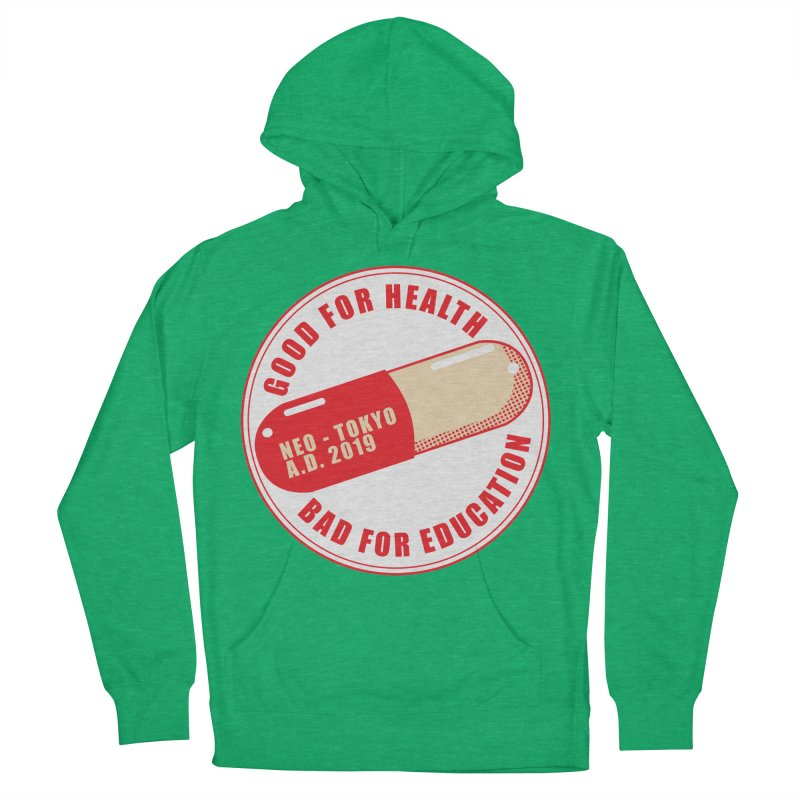 Good for Health Men's French Terry Pullover Hoody by darkchoocoolat's Artist Shop