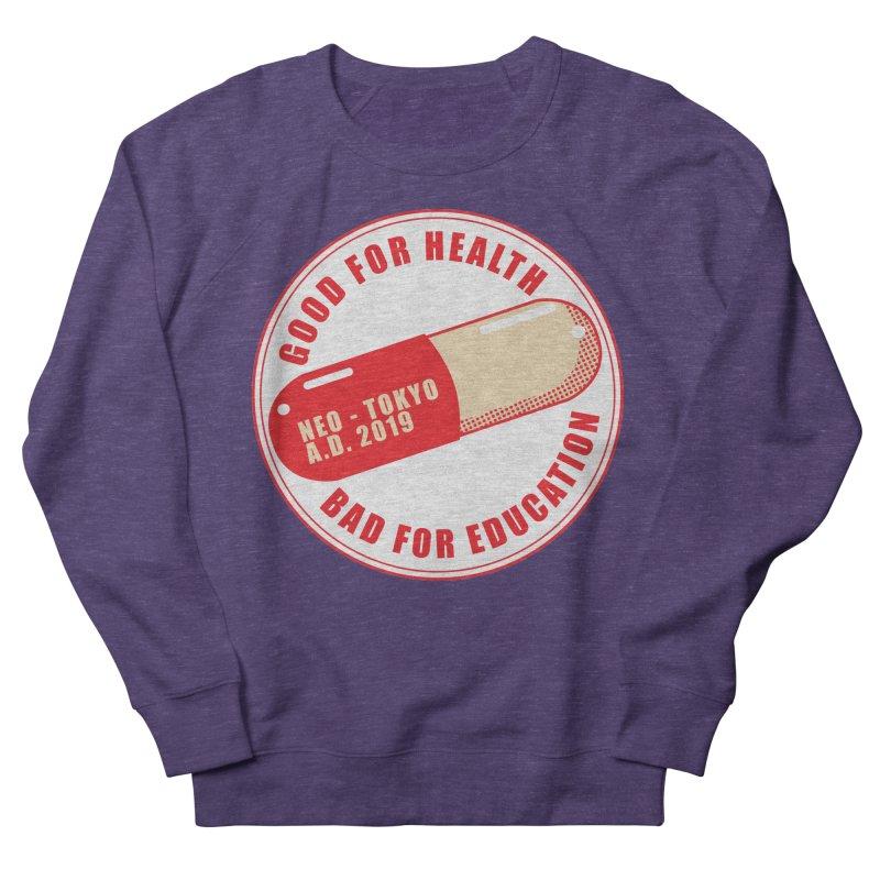 Good for Health Men's French Terry Sweatshirt by darkchoocoolat's Artist Shop