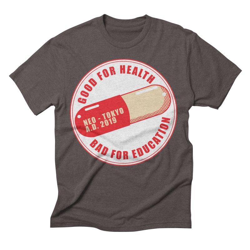 Good for Health Men's Triblend T-Shirt by darkchoocoolat's Artist Shop