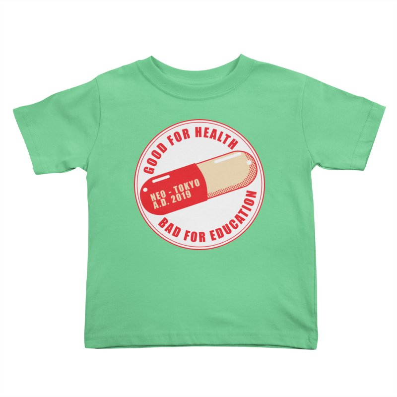 Good for Health Kids Toddler T-Shirt by darkchoocoolat's Artist Shop