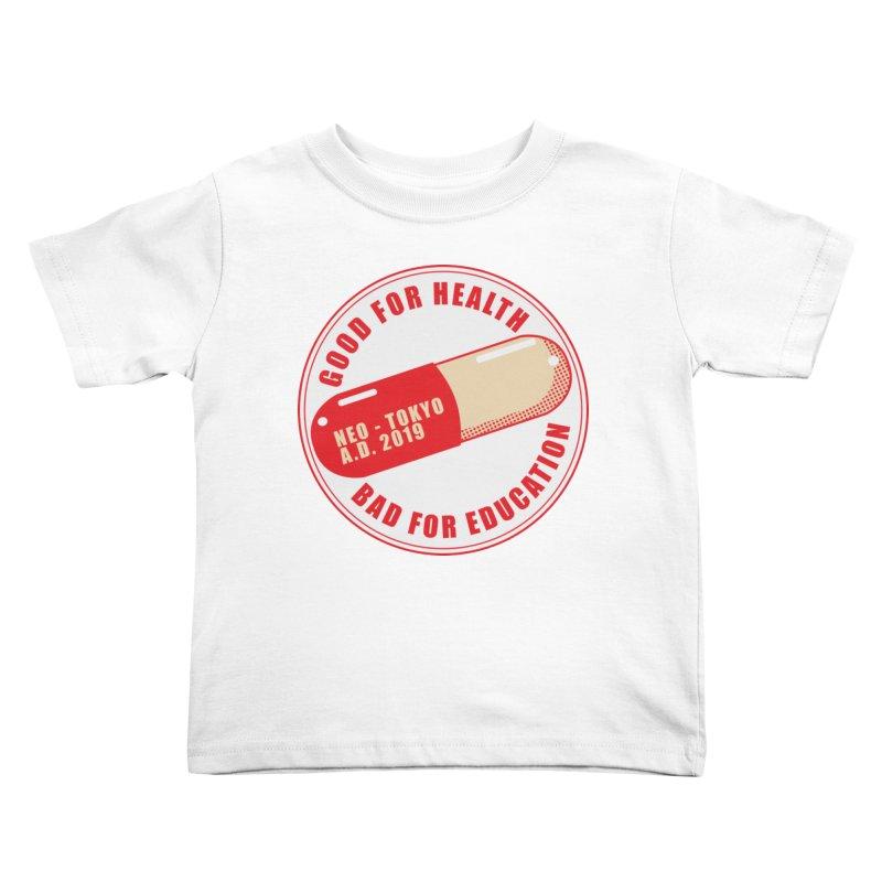 Good for Health Kids Toddler T-Shirt by darkchoocoolat's Artist Shop