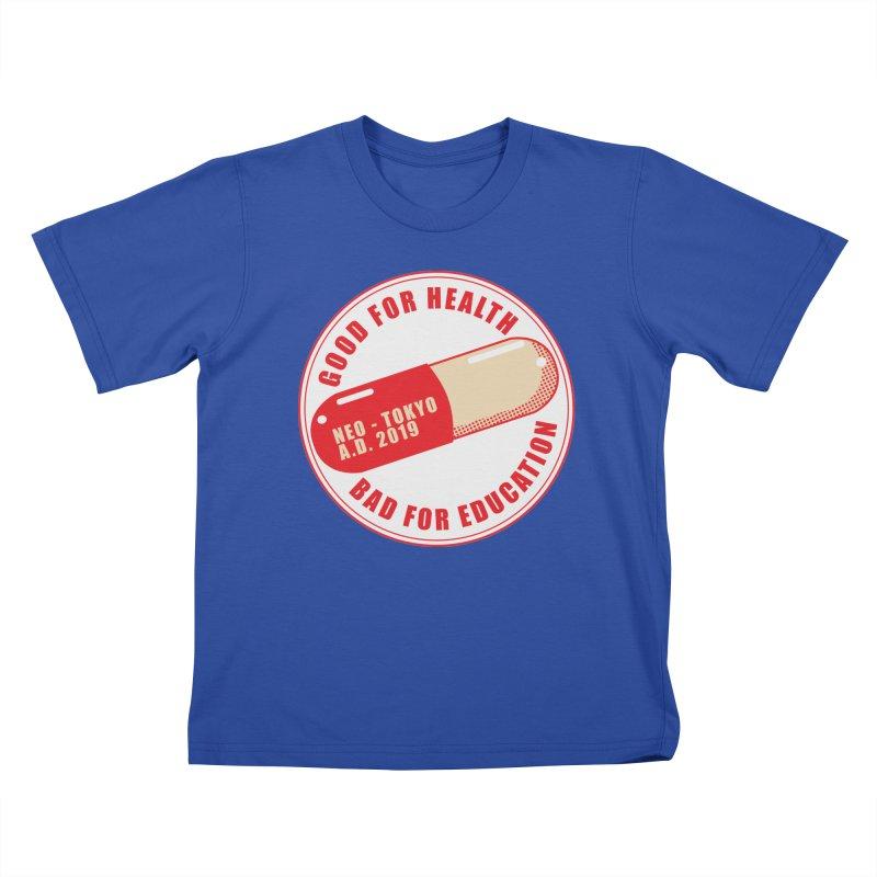 Good for Health Kids T-Shirt by darkchoocoolat's Artist Shop